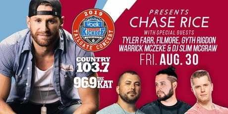 Chase Rice Live in Concert | Belk College Kickoff Concert tickets