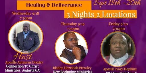 CTC City Wide Revival - HEALING & DELIVERANCE - BISHOP PRESSLEY