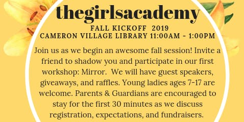 The Girl's Academy Fall Kickoff