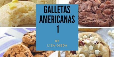 Galletas Americanas 1 con la Chef Liza Ojeda en Anna Ruíz Store entradas
