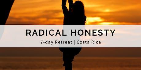 7-day Radical Honesty Retreat | Costa Rica tickets