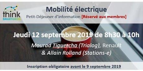 Mobilité électrique : recharge intelligente et durable tickets