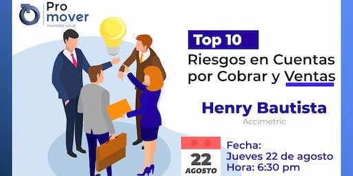 Top 10 Riesgos Cuentas por Cobrar Ventas
