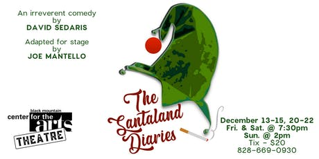 BMCAT presents THE SANTALAND DIARIES by David Sedaris tickets