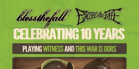 Bless The Fall / Escape The Fate tickets