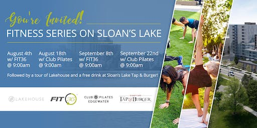 Lakehouse Fitness Series on Sloan's Lake