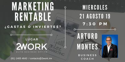 Marketing rentable ¿Gastas o inviertes?