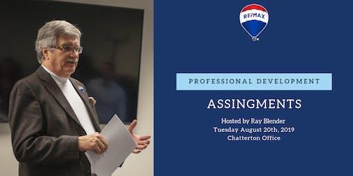 Professional Development - Assignments