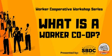 What is a Worker Co-Op? tickets
