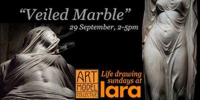 "AMC Sundays at LARA: ""Veiled Marble"" multi-model figure drawing"