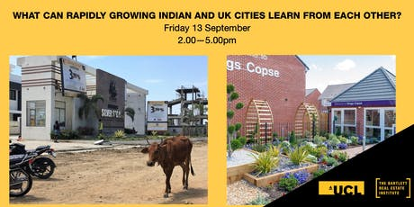 What can rapidly growing Indian and UK cities learn from each other? tickets