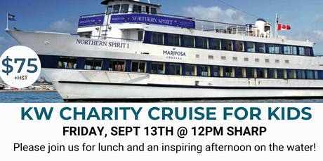 KW CHARITY CRUISE FOR KIDS - SEPT 13 2019 tickets