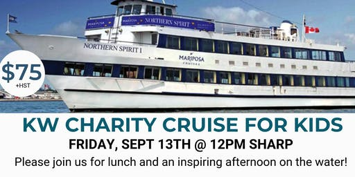 KW CHARITY CRUISE FOR KIDS - SEPT 13 2019