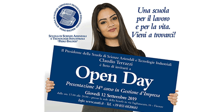 Open Day: presentazione del 34° Corso in Gestione d'Impresa biglietti