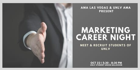 Marketing Career Night at UNLV tickets