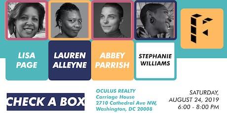 Hamiltonian Artists presents PDSS: Check A Box tickets