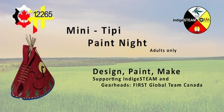 Mini-Tipi Paint Night SW tickets