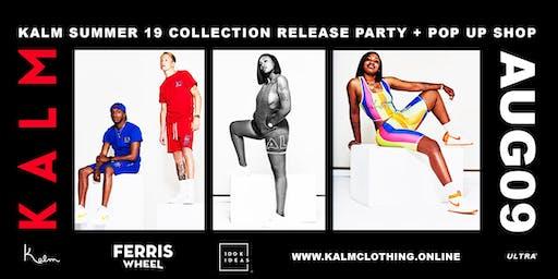KALM Summer 19 Pop-Up Shop