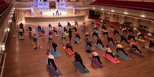 Yoga at the Hall