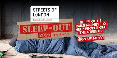 Streets of London Sleep-Out 2019