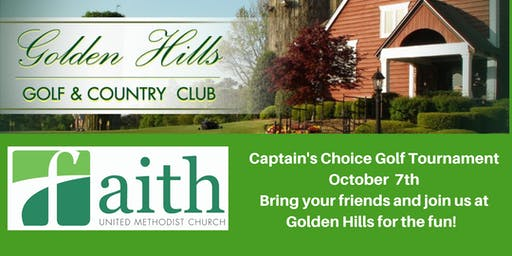 Faith UMC Golf Tournament -Golden Hills October 2019