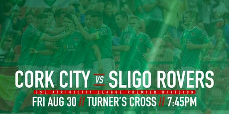 Cork City FC v Sligo Rovers FC tickets