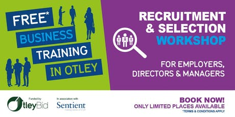 Recruitment & Selection Workshop tickets