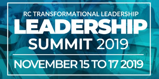 2019 Leadership Summit - Transformational Leadership