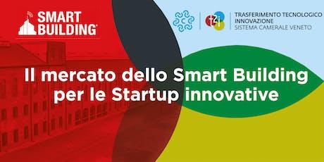 Il mercato dello Smart Building per le Startup innovative biglietti