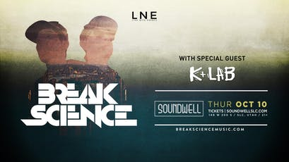Break Science ft. K-Lab tickets