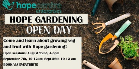 Grow your own fruit and veg at home! tickets