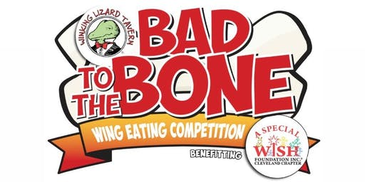 Winking Lizard's Bad to the Bone Wing Eating Competition