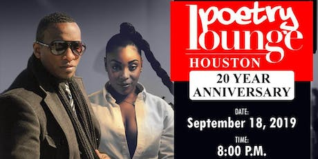 WEGO LIVE: Poetry Lounge Houston 20 Year Anniversary (Kodak) tickets