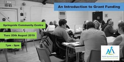 An Introduction to Grant Funding Workshop