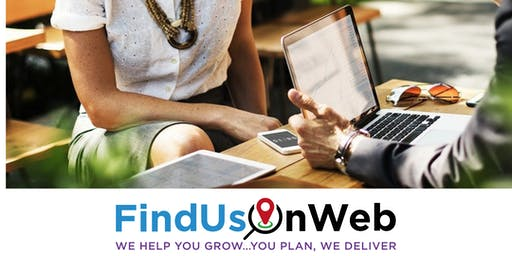 Find Us On Web Coffee Morning & Speed Networking Event Douglas - 21 August 2019
