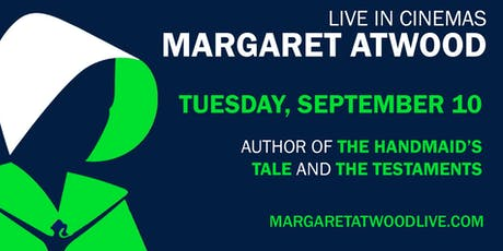 Margaret Atwood: Live in Cinemas tickets