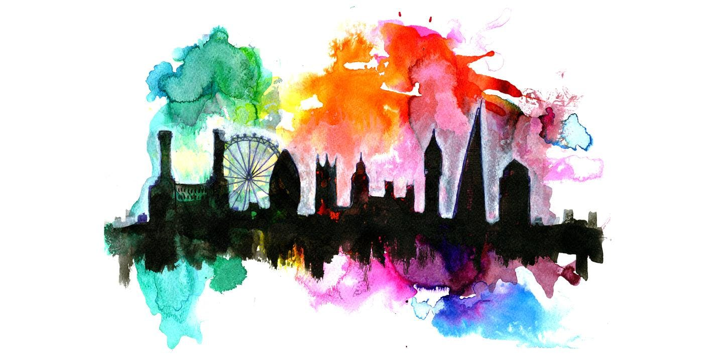 Paint London Afternoon + Wine!