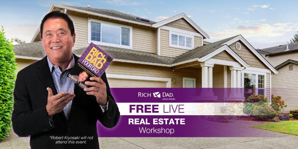 Upcoming Workshops In Arlington >> Free Rich Dad Education Real Estate Workshop Coming To Arlington Va