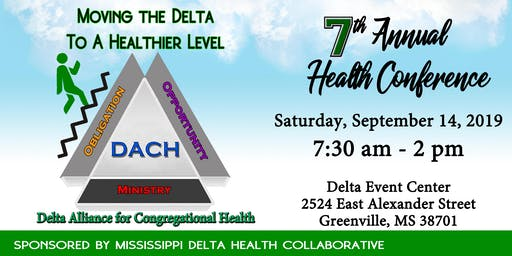 2019 Delta Alliance for Congregational Health (DACH) Conference