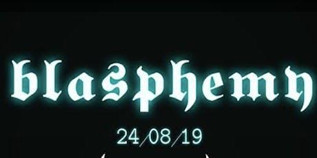 Blasphemy Dublin tickets