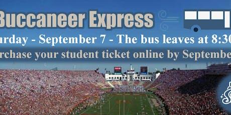Buccaneer Express tickets
