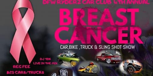 DFW RYDERZ 4TH ANNUAL BREAST CANCER CAR TRUCK BIKE & SLINGSHOT SHOW