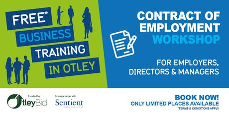 Contract of Employment Workshop tickets