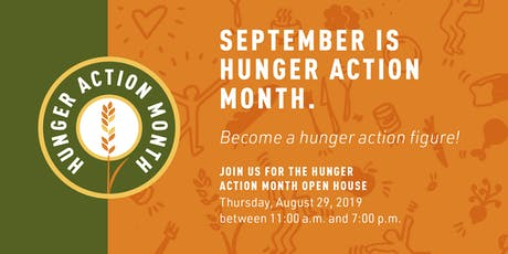 Hunger Action Month Open House tickets