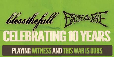 blessthefall & Escape The Fate tickets