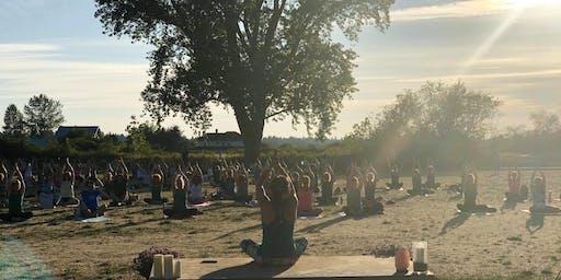 lululemon Tsawwassen/Delta Yoga Series- Session 2 Diefenbaker Park