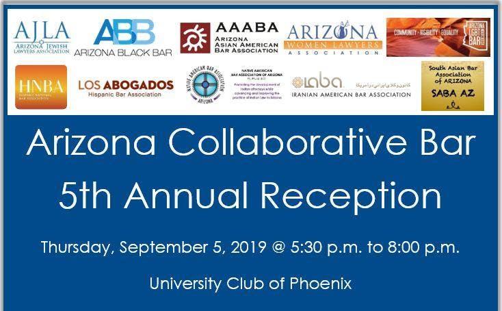 5th Annual Arizona Collaborative Bar Reception