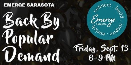 Emerge Sarasota Relaunch Celebration tickets
