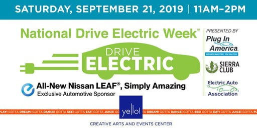 National Drive Electric Week - An Electric Car Show at Yello!