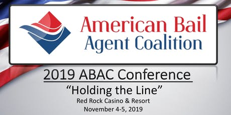 2019 American Bail Agent Coalition Conference tickets